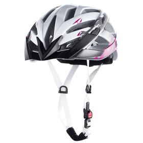 Alpina Panoma Cykelhjälm grå/vit